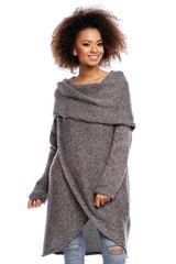 Megztinis moterims PeeKaBoo 84297, pilkas kaina ir informacija | Megztiniai moterims | pigu.lt