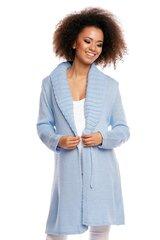 Kardiganas moterims PeeKaBoo 84476, mėlynas kaina ir informacija | Megztiniai moterims | pigu.lt