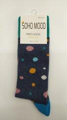 Kojinės Vyrams Soho Mood taškai kaina ir informacija | Vyriškos kojinės | pigu.lt