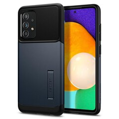 Spingen Slim Armor dėklas skirtas Samsung Galaxy A52, Black kaina ir informacija | Telefono dėklai | pigu.lt