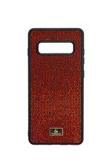 Telefono dėklas SoundBerry, skirtas Samsung Galaxy S10 Plus The Bling World, raudonas kaina ir informacija | Telefono dėklai | pigu.lt
