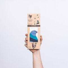 Spalvotos kojinės dėžutėje Balandžiai kaina ir informacija | Spalvotos kojinės dėžutėje Balandžiai | pigu.lt