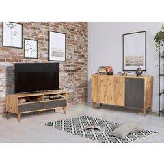 Svetainės baldų komplektas Kalune Design 869(III), rudas kaina ir informacija | Svetainės baldų komplektas Kalune Design 869(III), rudas | pigu.lt