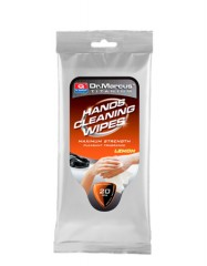 Drėgnos servetėlės rankoms valyti Dr. Marcus