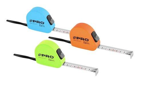 Ruletė PRO 3m x 16mm kaina ir informacija | Mechaniniai įrankiai | pigu.lt