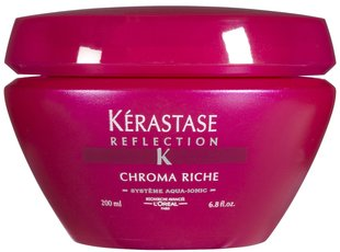 Dažytų plaukų kaukė Kerastase Reflection Chroma Riche 200 ml