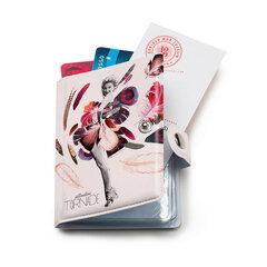 Piniginė kortelėms Bonjour mon coussin Avis de Tornade kaina ir informacija | Piniginės, kortelių dėklai moterims | pigu.lt