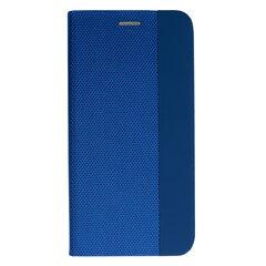 SENSITIVE book dėklas telefonui skirtas Xiaomi Redmi Note 9T, mėlyna kaina ir informacija | Telefono dėklai | pigu.lt