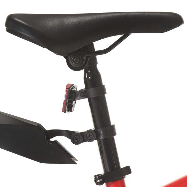 Kalnų dviratis, raudonas, 21 greitis, 26 colių ratai pigiau