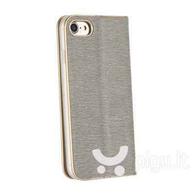 Чехол Luna Book Silver для Samsung Galaxy A42 5G, серебряный цена