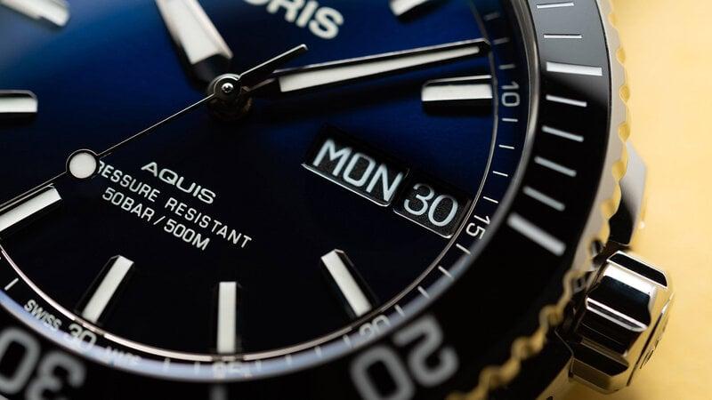 Мужские часы Oris Aquis Big Day Date
