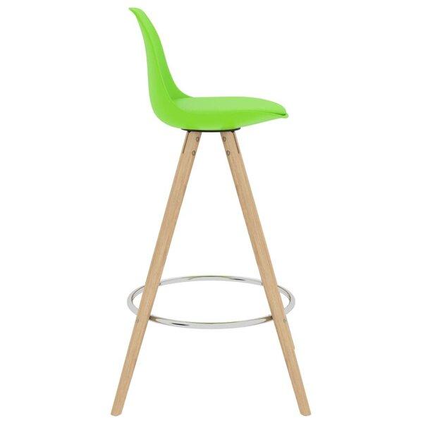 Baro baldų komplektas, 5 dalių, žalias