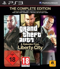 GRAND THEFT AUTO IV: The Complete Edition, PS3