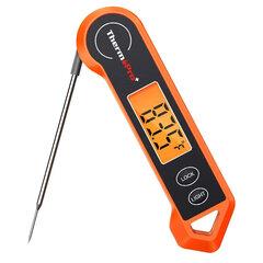 Skaitmeninis momentinis, atsparus vandeniui maisto termometras ThermoPro 19H kaina ir informacija | Grilio, šašlykinių priedai ir aksesuarai  | pigu.lt