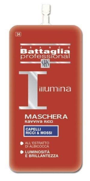 Kaukė garbanotiems plaukams Franco Battaglia Professional 20 ml
