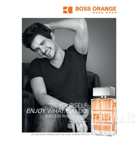 Tualetinis vanduo Hugo Boss Boss Orange Feel Good Summer EDT vyrams 100 ml internetu