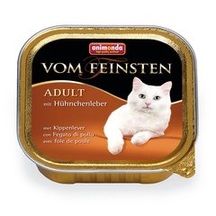 Animonda Vom Feinsten su vištų kepenėlėmis, 100 g