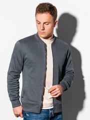 Džemperis vyrams Ombre B1077, pilkas kaina ir informacija | Džemperis vyrams Ombre B1077, pilkas | pigu.lt
