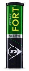 Teniso kamuoliukai Dunlop FORT ALL COURT TS 4-tin kaina ir informacija | Teniso kamuoliukai Dunlop FORT ALL COURT TS 4-tin | pigu.lt