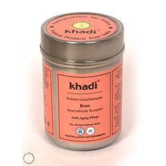 Augalinė atstatomoji rožių žiedlapių kaukė veidui Khadi 50 g