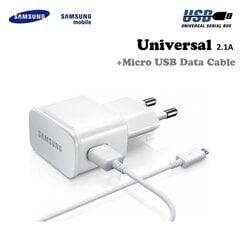 Samsung ETA-U90EWEGSTD 10W USB Plug 2A Charger + Micro USB Cable