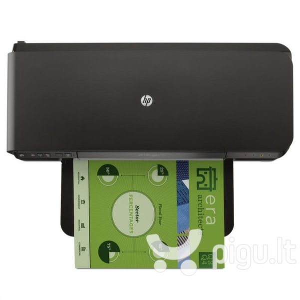 HP Officejet 7110 / spalvotas internetu