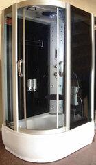 Hidromasažinė dušo kabina K607T, dešinė kaina ir informacija | Hidromasažinės dušo kabinos | pigu.lt