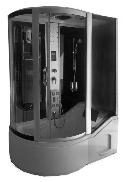Hidromasažinė dušo kabina KM810 dešinė
