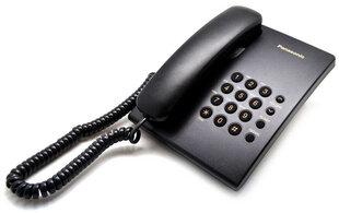 Panasonic KX-TS500FXB, Juodas kaina ir informacija | Stacionarūs telefonai | pigu.lt