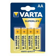 Varta AA Superlife 4 шт. цена и информация | Батарейки | pigu.lt