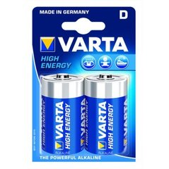 Varta High Energy D elementai 2 vnt.
