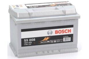Akumuliatorius Bosch 77Ah 780A S5008 kaina ir informacija | Akumuliatoriai | pigu.lt