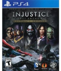 Injustice Gods Among Us Ultimate Edition, PS4