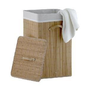 "Skalbinių dėžė ""Bambus"", 34 x 34 x 57 cm"