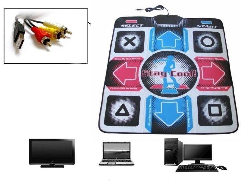 Šokių kilimėlis Step Mania (jungtis prie TV ir kompiuterio)