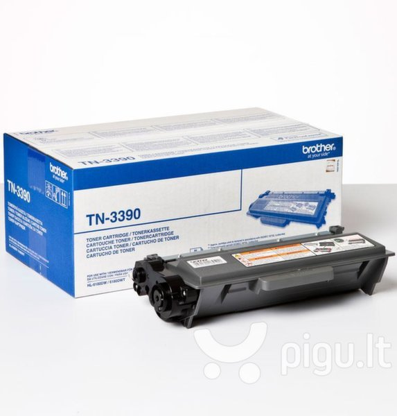 Brother - Toner TN3390 12k skirtas DCP8250/MFC8950/HL6180