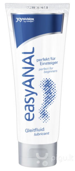 "Analinis lubrikantas ""Easy Anal"" 80 ml."