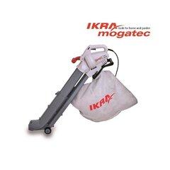 Elektrinis lapų pūstuvas/surinkėjas 2.8 kW Ikra Mogatec IBV 2800 E kaina ir informacija | Lapų siurbliai, šakų smulkintuvai, trinkelių valytuvai | pigu.lt