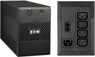 Eaton 5E650iUSB kaina ir informacija | Nepertraukiamo maitinimo šaltiniai (UPS) | pigu.lt