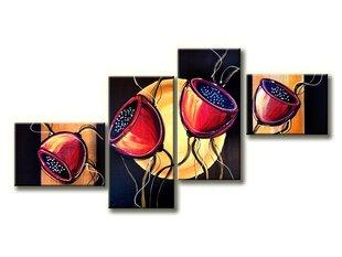 Keturių dalių tapytas paveikslas kaina ir informacija | Reprodukcijos, paveikslai | pigu.lt