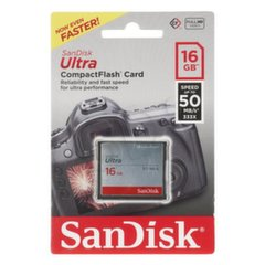 SANDISK 16GB Compact Flash Ultra card 50MB/s