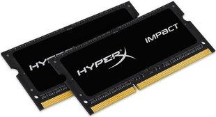 HyperX IMPACT BLACK 2x4GB DDR3 1600 8GB CL9 (HX316LS9IBK2/8)