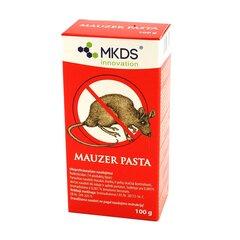 MKDS Mauzer Pasta nuo pelių ir žiurkių, 100 g