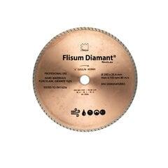 Deimantinis diskas turbo sausam/šlapiam pjovimui, Ø125 mm; Ø250 mm