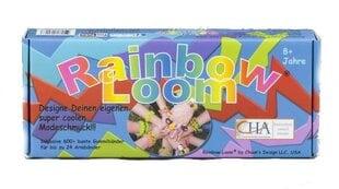 Spalvoto silikono apyrankių gaminimo rinkinys Rainbow Loom kaina ir informacija | Spalvoto silikono apyrankių gaminimo rinkinys Rainbow Loom | pigu.lt