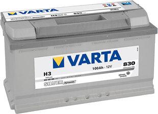Akumuliatorius VARTA SILVER 100AH 830A H3 kaina ir informacija | Akumuliatorius VARTA SILVER 100AH 830A H3 | pigu.lt