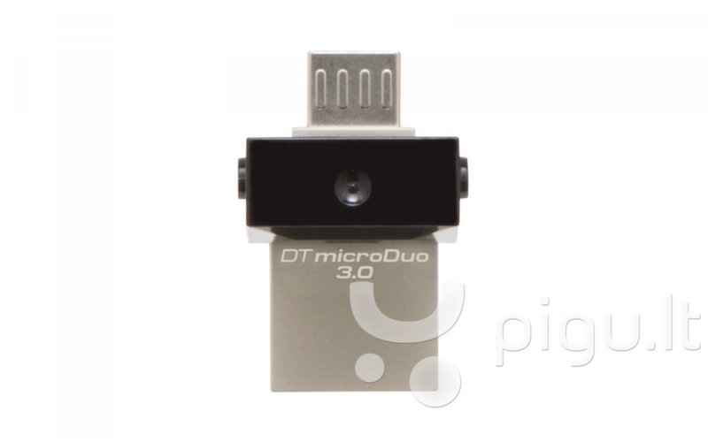 Atmintinė Kingston DT microDuo 16 GB, microUSB, USB 3.0