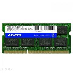ADATA DDR3L SODIMM 4GB 1600MHz CL11 (ADDS1600W4G11-S)