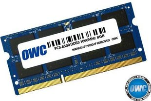 OWC DDR3 SODIMM 8GB 1066MHz CL7 Apple Qualified (OWC8566DDR3S8GB)