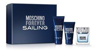 Rinkinys Moschino Forever Sailing: EDT vyrams 50 ml + balzamas po skutimosi 100 ml + dušo želė 100 ml
